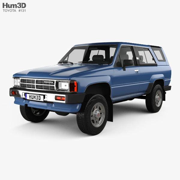 3D model of Toyota 4Runner 1986