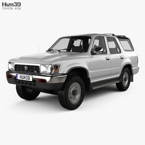 3D model of Toyota 4Runner 1992