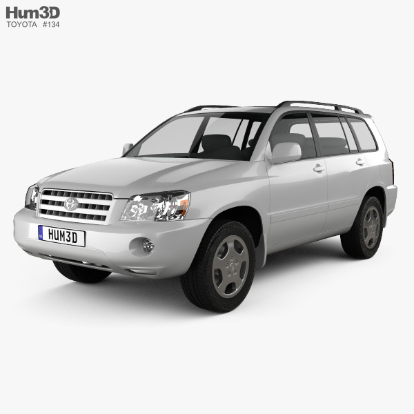 Toyota Highlander (XU20) 2003 3D model