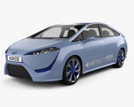 3D model of Toyota FCV-R 2012