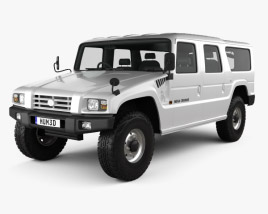 3D model of Toyota Mega Cruiser 1996