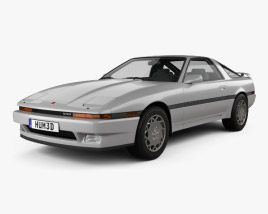 3D model of Toyota Supra 1986