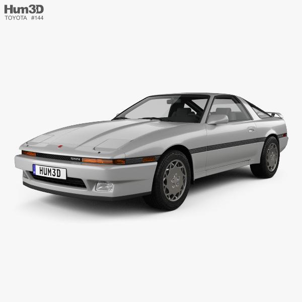 Toyota Supra 1986 3D model
