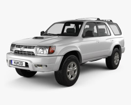 3D model of Toyota 4Runner 1999