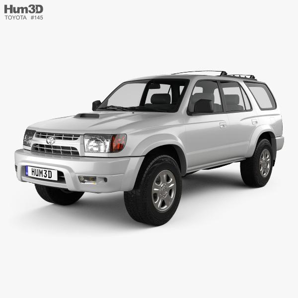 3D model of Toyota 4Runner 1999