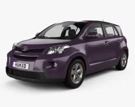 3D model of Toyota Urban Cruiser 2008