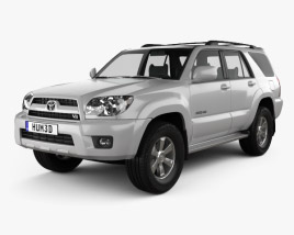 3D model of Toyota 4Runner 2005