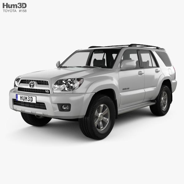 3D model of Toyota 4Runner 2005
