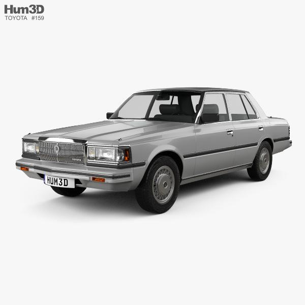 Toyota Crown (S110) Super Saloon 1982 3D model