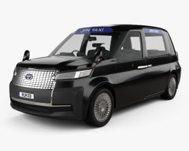 3D model of Toyota JPN Taxi 2013
