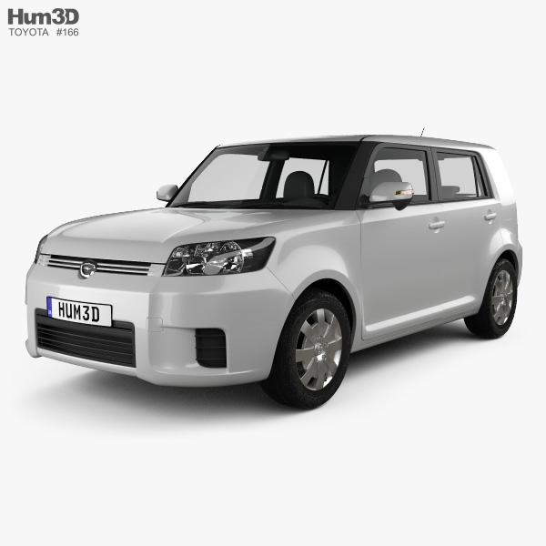 Toyota Corolla Rumion 2007 3D model