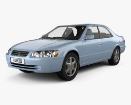 3D model of Toyota Camry (XV20) 1997