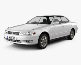 3D model of Toyota Mark II (X90) 1992