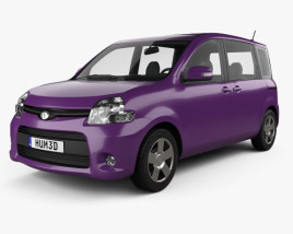 3D model of Toyota Sienta Dice 2011