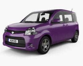 Toyota Sienta Dice 2011 Modelo 3D