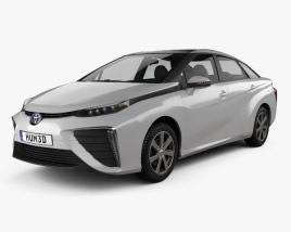3D model of Toyota FCV 2015
