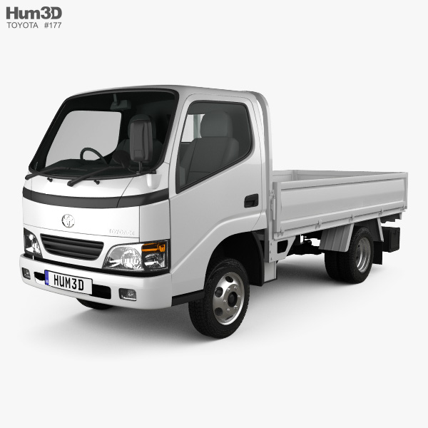 Toyota ToyoAce Flatbed 2006 3D model