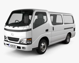3D model of Toyota ToyoAce Van 2006