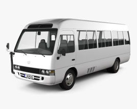 3D model of Toyota Coaster 2014