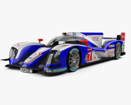 3D model of Toyota TS030 Hybrid 2013