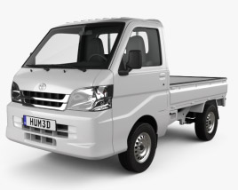 3D model of Toyota Pixis Truck 2011