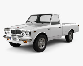 3D model of Toyota Hilux 1972