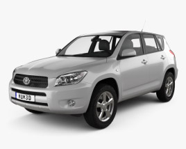 3D model of Toyota RAV4 2006