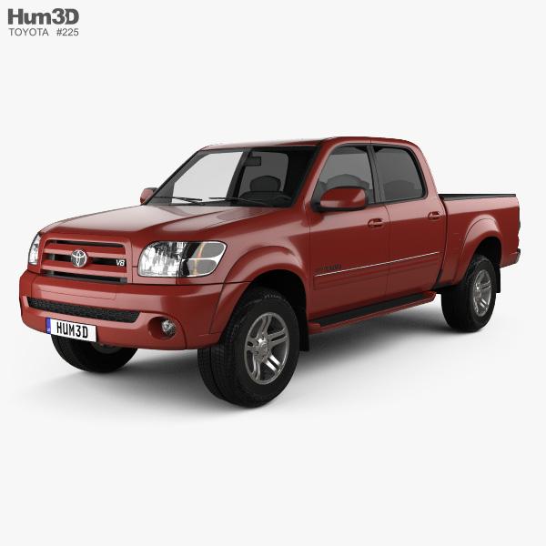 Toyota Tundra Double Cab 2003 3D model