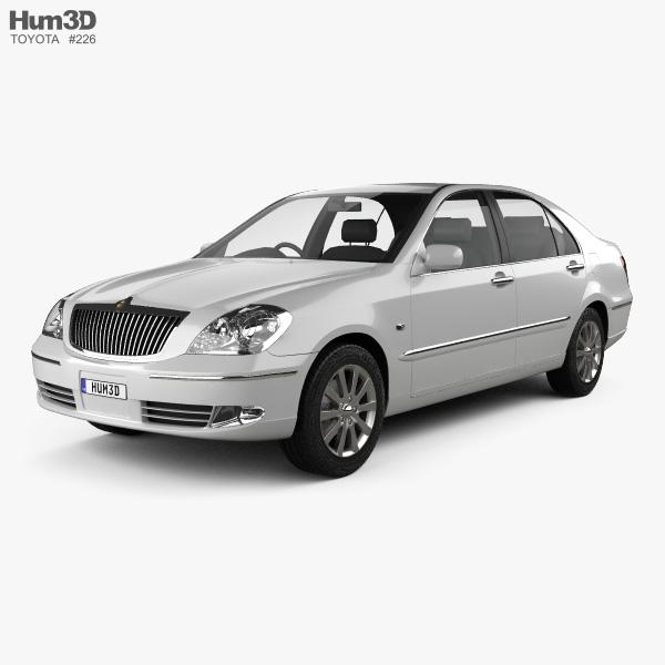 Toyota Brevis 2001 3D model