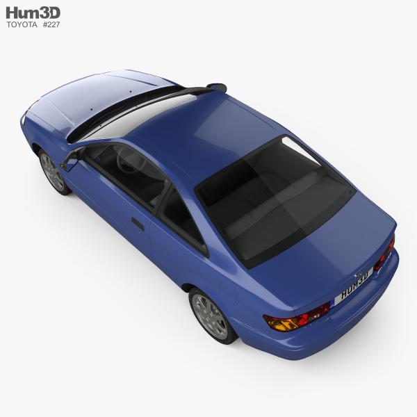 Toyota Paseo 1995 3D model