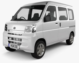 3D model of Toyota Pixis Van 2011