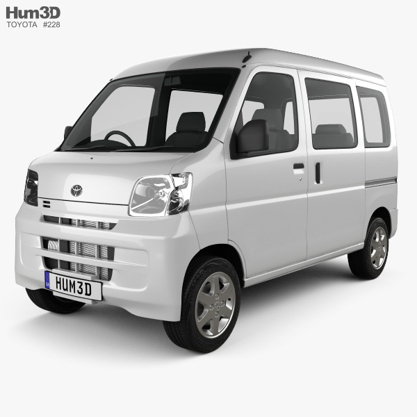 3D model of Toyota Pixis Van 2011