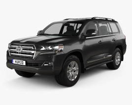 3D model of Toyota Land Cruiser (J200) 2016