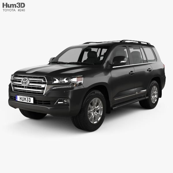 Toyota Land Cruiser (J200) 2016 3D model