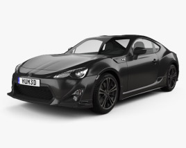 3D model of Toyota 86 GT VTX 2013
