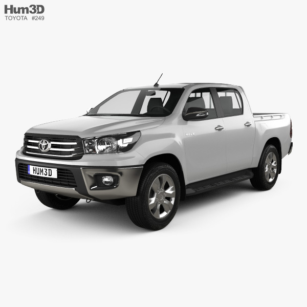 Toyota Hilux Double Cab Hi Rider 2015 3D model