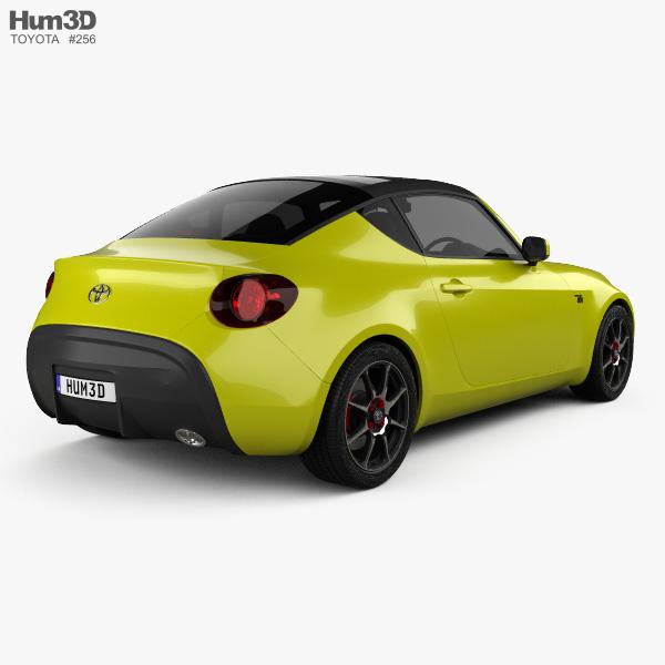 Toyota S-FR 2015 3D model