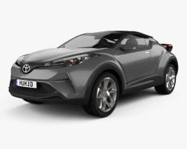 3D model of Toyota C-HR Concept 2016