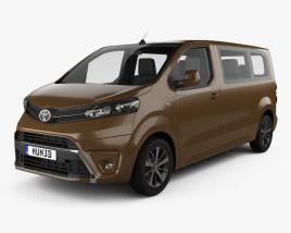 Toyota Proace 2016 3D model