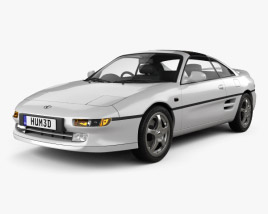 3D model of Toyota MR2 1990