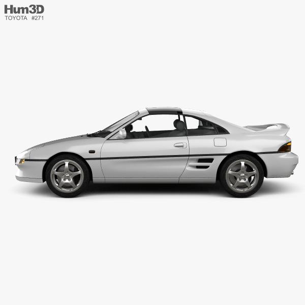 Toyota MR2 1990 3D model