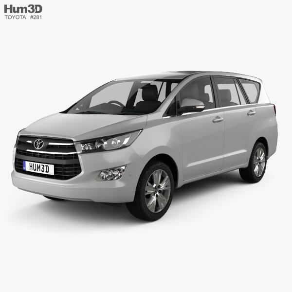 Toyota Innova 2016 3D model
