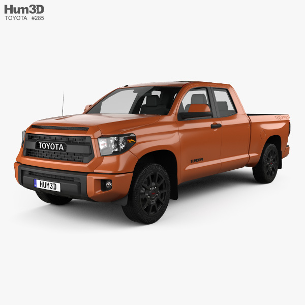 Toyota Tundra Double Cab TRD Pro 2014 3D model