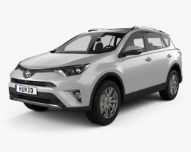 3D model of Toyota RAV4 VXR 2016