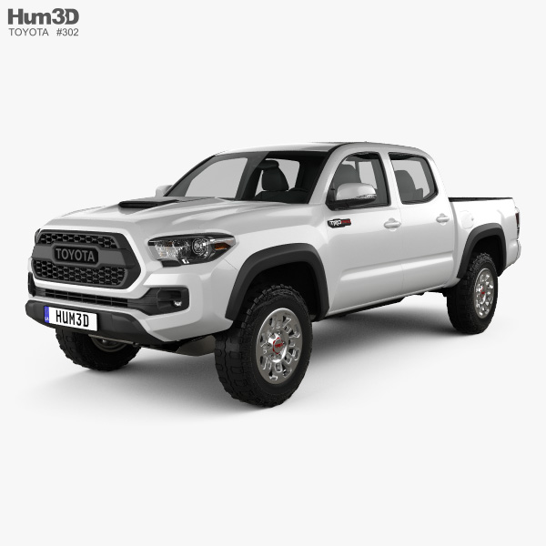 Toyota Tacoma Double Cab TRD Pro 2017 3D model