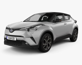 3D model of Toyota C-HR 2017