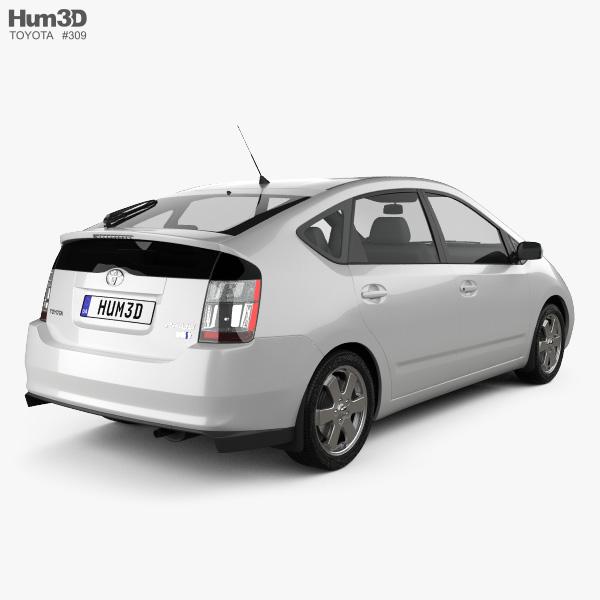 Toyota Prius base 2003 3D model