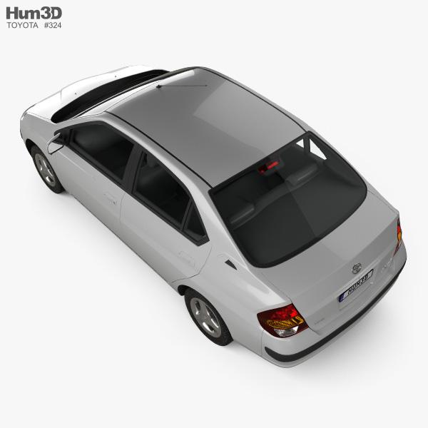 Toyota Prius (JP) 1997 3D model
