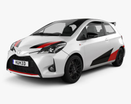 3D model of Toyota Yaris GRMN 2017