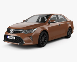 3D model of Toyota Camry (CIS) 2017